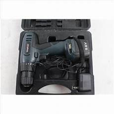 king craft cordless drill property room