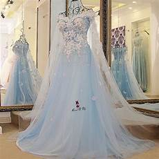 Baby Blue Wedding Gown baby blue wedding dress vintage bohemian wedding gowns
