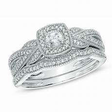 white gold halo antique vintage style round diamond