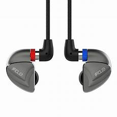 Wired Earphones Unit Ring Iron Moving by Fidue Sirius Five Unit Hybrid Circle In Ear Moving Iron