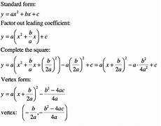 how to write the equation of the parabola in vertex form