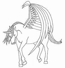 Malvorlagen Wings Unicorn Unicorn With Wings Drawing At Getdrawings Free