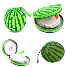 Watermelon Design Disc Carry Wallet by Wallet Disc 24 Sheet Cd Dvd Storage Bag Box Carrying