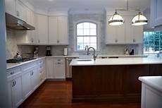 white kitchen cherry island little silver new jersey by design line kitchens