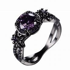 purple amethyst ring com