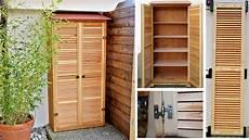 armadietti in legno armadio per esterno in legno realizzazione passo passo