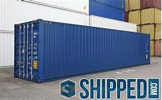 container 40 hc 40ft new high cube intermodal shipping container secure