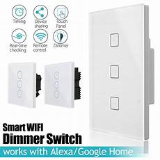 Bakeey Wall Smart Switch Socket Touching by Uk Wifi Smart Dimmer Light Wall Switch Touchs Remote