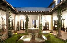 spanish style house plans with interior courtyard spanish style home designs with court yard luxury