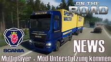 on the road truck simulator news i multiplayer mod
