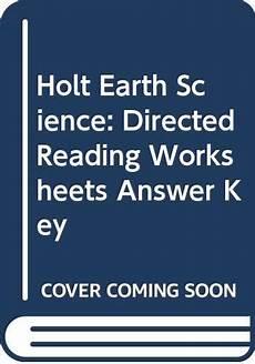 holt earth science worksheets 13318 9780030554131 holt earth science directed reading worksheets answer key abebooks rinehart