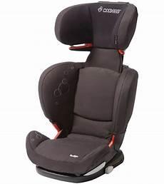 maxi cosi rodifix booster car seat in total black