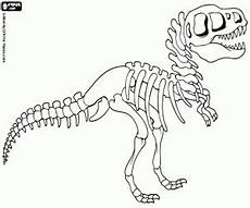 Malvorlage Dino Skelett Dino Skelett Malvorlage Coloring And Malvorlagan