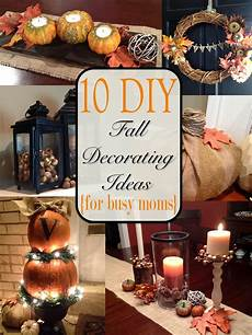 Fall Home Decor Ideas by Two It Yourself Fall Home Tour 10 Diy Fall Decorating