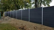 aluminium frame wood plastic composite fence garden