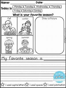 free daily writing prompts kindergarten freebies kindergarten writing prompts kindergarten