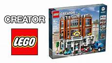 Lego 2019 Creator Expert Corner Garage Official Images
