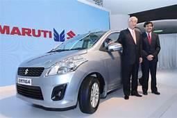 Maruti Launches Ertiga MPV  Autocar India