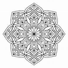 blumen mandala mandala floral vector free