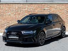 2018 used audi a6 rs6 plus avant tfsi quattro panther black
