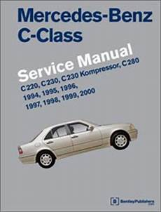 car service manuals pdf 1997 mercedes benz c class navigation system mercedes benz c class w202 repair information 1994 2000 bentley publishers repair manuals