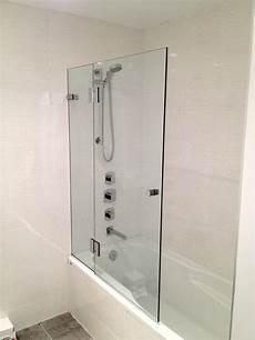 Duschabtrennung Badewanne Glas - shower enclosures contemporary bathroom vancouver