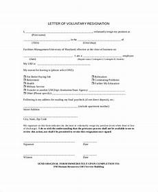 sle resignation letter 9 exles in pdf word