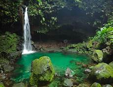 tropical waterfall with swimming image of warm 45668948