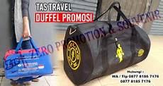 produksi tas travel duffel promosi murah barang promosi mug promosi payung promosi pulpen