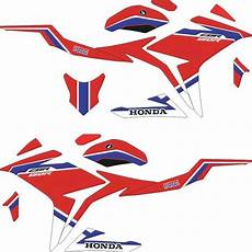 Cbr Rok Celana Rok jual sticker all new cbr150r striping simple hrc racing
