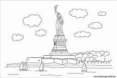 New York Malvorlagen Miss Liberty Freiheitsstatue Malvorlage Erwachsene
