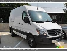 Arctic White  2014 Mercedes Benz Sprinter 3500 High Roof