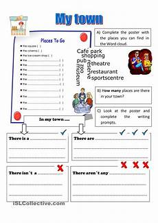 town worksheets 18489 my town esl worksheets of the day student centered resources printables and