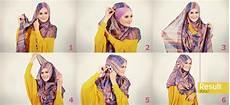 Cara Memakai Jilbab Pashmina Pesta Cantik Dan Dinamis