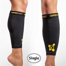 copperjoint unisex copper infused calf compression sleeve