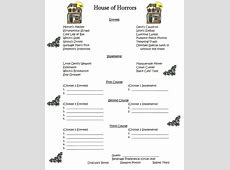 Invite and Delight: House of Horrors