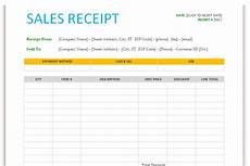 sales receipt template for word dotxes