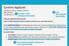 resume skil section exle how to write a resume skills section