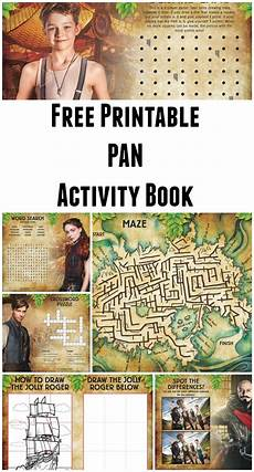 free printable pan activity book in the playroom