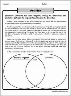 4th grade compare and contrast worksheets worksheets for
