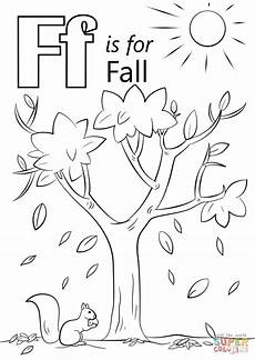 fall coloring worksheets for kindergarten 12917 letter f is for fall coloring page free printable coloring pages