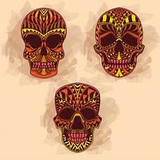 Different Colors Available Premium Skulls Skull Premium Vector