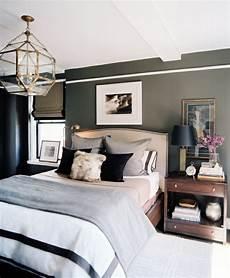 Grün Grau Wandfarbe - schlafzimmer inspiration farbe