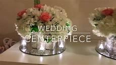 diy wedding centerpiece bling wedding low