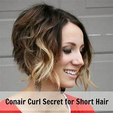 How To Curl Hair With Conair Curl Secret Tutorial