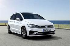 volkswagen golf sportsvan r line unveiled with exterior