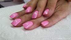 rosa nägel mit glitzer acryln 228 gel mit rosa neon glitzer nailart nageldesign