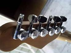Guitar Locking Tuners 6 In Line Right Chrome For Strat
