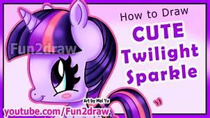How To Draw Twilight Sparkle  My Little Pony Fun2draw