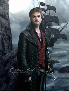 captain hook once upon a time by sprsprsdigitalarthook